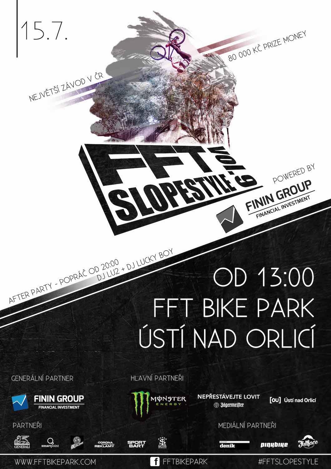 FFT Slopestyle 2017 - plakat