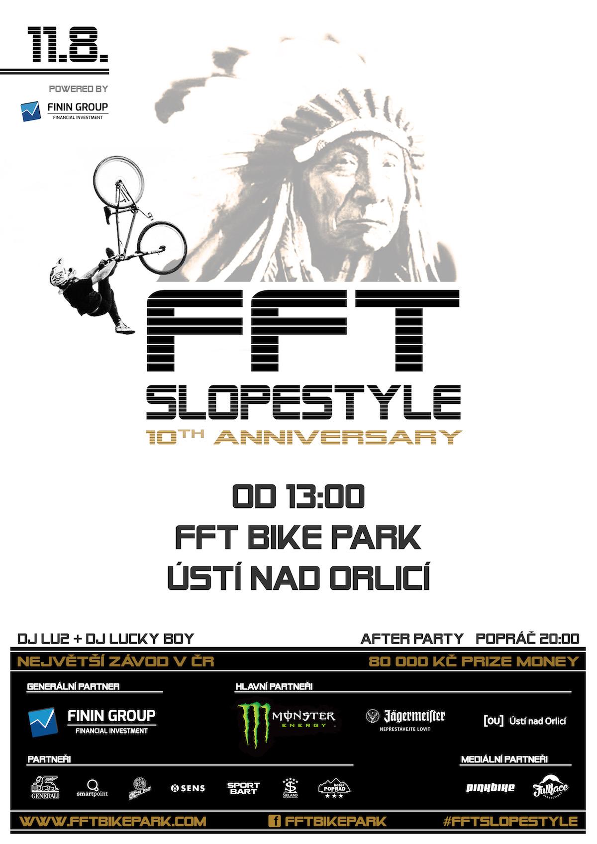 FFT Slopestyle 2018 - plakat